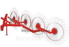 Грабли колесно-пальцевые Солнышко