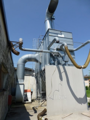 Equipment of aspiration and filtration. Power 40