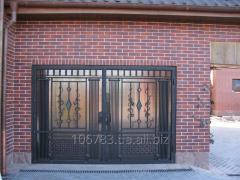 Gate are garage oar