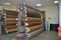 Rack for rolls, racks of industrial function
