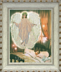 Set for embroidery by beads the Angel of a dream 1