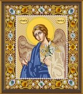 Set for embroidery by beads Angel Gabriel the