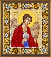 Set for embroidery by beads Saint Michael the