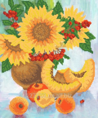 The scheme for beadwork the Bright still life