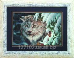 The scheme for beadwork the Lynx SB-267 Product