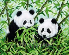The scheme for beadwork of the Panda AK3-010