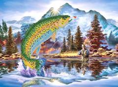 The scheme for beadwork Successful fishing RKP-210