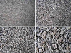 Crushed stone of various fractions, granotsev