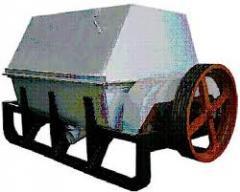 Clay mixers. Drilling rigs. MG2-4M clay mixer.