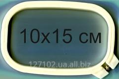 Pyaltsa oval plastic with the screw 10*15sm the