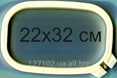 Pyaltsa oval plastic with the screw 22*32sm the