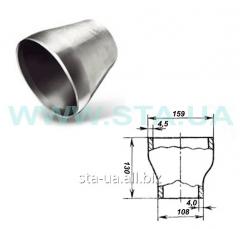 Steel transition 159kh133mm GOST 17378-2001