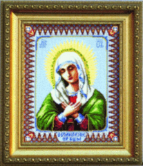 Set for an embroidery threads the Icon of the
