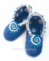 Set for a fulling Blue bootees V-35 Product code