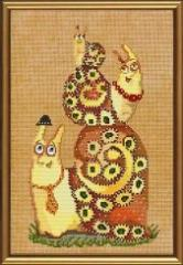 Set for creativity the Family of snails NND 4027