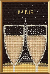 Set for creativity Paris in illustrations. Eiffel