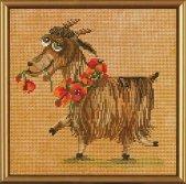Set for creativity the Nanny-goat pretty girl NND