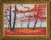 Set for creativity Red fall the Product code of