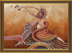 Set for creativity Music of feelings. Harp Product