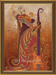 Set for creativity Music of feelings. Violin