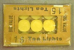 Плавающие чайные свечи 15шт. Код товара 3056х