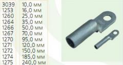 Алюминиевые кабельные наконечники под опрессовку