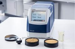 Analyzers of forages, compound feeds and