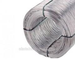 Galvanized steel wire, annealed