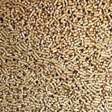 Pellets fuel wood