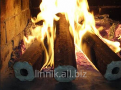 Biobriquettes are fuel oak