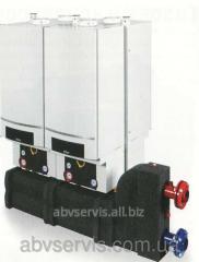 Настенный газовый конденсационный котел Logamax