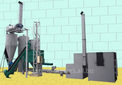 Equipment for processing of vegetable waste