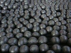 Шары стальные мелющие для шаровых мельниц  ф30;