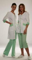 Спецодежда женская для медперсонала