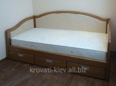 Диван-кровать из массива