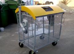 Мусорный контейнер для пластика