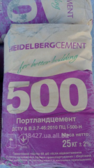 Цемент портланд ПЦ І 500 в мішках, оригінал