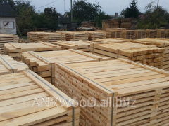 Preparation for pallets pine
