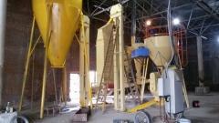The press granulator OGM-1.5 of the line of