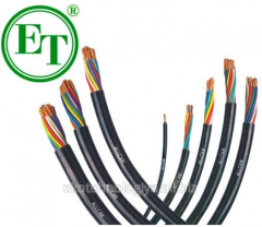 Cable network in assortment one and multicore,