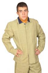 Одежда рабочая для защиты от искр и излучения