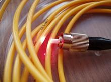 Cables are fiber-optical