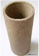 Filter ceramic-metal gas/oil