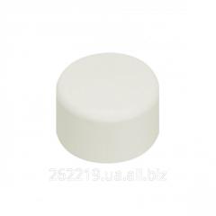 The cap is polypropylene