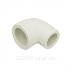 Corner polypropylene 90 ° reducing
