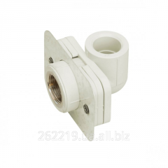 Corner of 90 °C a female thread and fastening