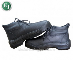 Boots of the welder leather