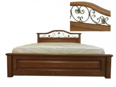Кровать из дерева Вера
