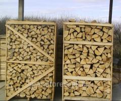 Firewood is dry oak