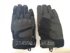 Тактические кожанные перчатки MIL-TEC